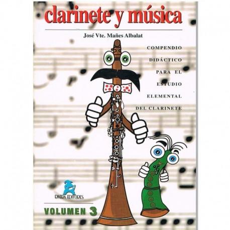 Mañes Albalat. Clarinete y Música Vol.3. Rivera