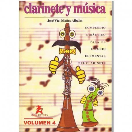 Mañes Albalat. Clarinete y Música Vol.4