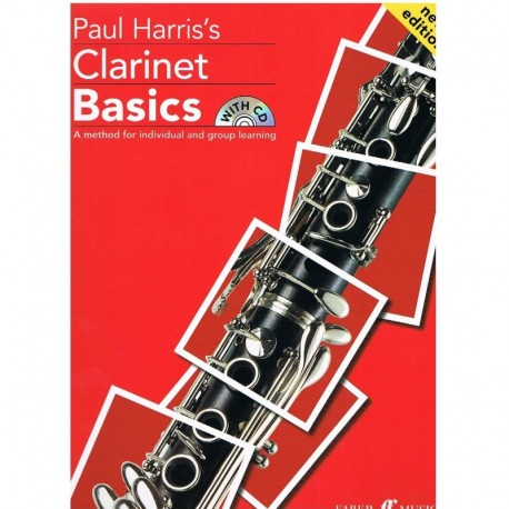 Harris, Paul. Clarinet Basics +CD. Faber Music