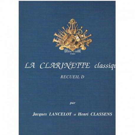 Lancelot/Classens. Le Clarinette Classique Vol.D