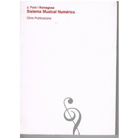 Font I Romagosa. Sistema Musical Numérico. Clivis
