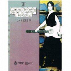 Varios. XIII Concurso Nacional de Arte Flamenco. Córdoba 1992