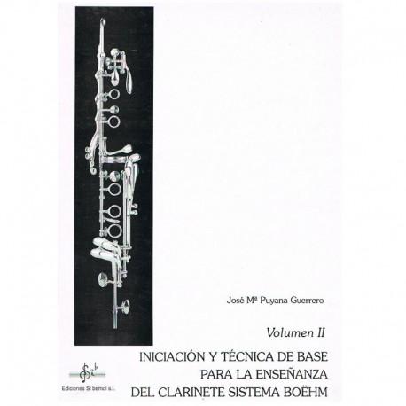 Puyana, Jose Iniciación y Técnica de Base Sistema Boehm Vol.2