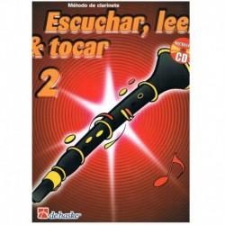 Broers/Kastelein. Escuchar, Leer y Tocar Vol.2 +CD (Clarinete)