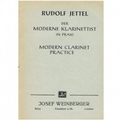 Jettel, Rudo Práctica Moderna del Clarinete Vol.1