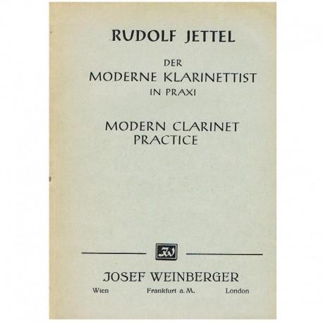 Jettel, Rudolf. Práctica Moderna del Clarinete Vol.1