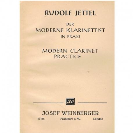 Jettel, Rudolf. Práctica Moderna del Clarinete Vol.2