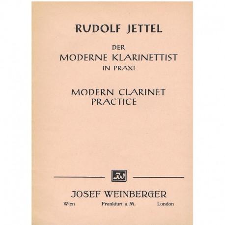 Jettel, Rudo Práctica Moderna del Clarinete Vol.3