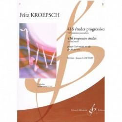 Kroepsch 416 Estudios Progresivos Vol.1 (167 Ejercicios)
