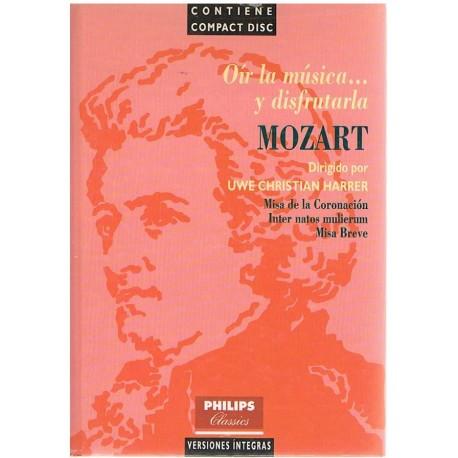 Harrer, Uwe. Oír la Música y Disfrutarla. Mozart (+CD)