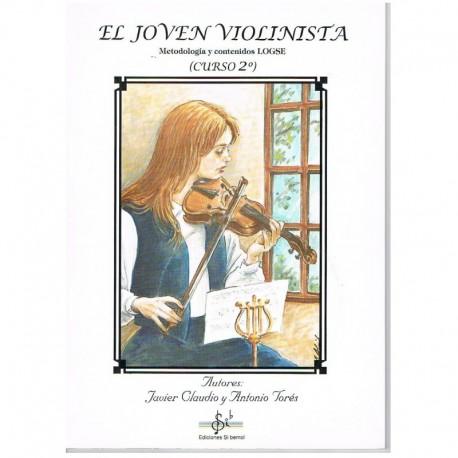 Claudio/Torés. El Joven Violinista Vol.2 +CD. Si Bemol