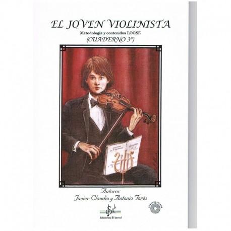 Claudio/Torés. El Joven Violinista Vol.3 +CD. Si Bemol