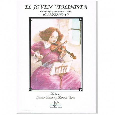 Claudio/Torés. El Joven Violinista Vol.4 +CD. Si Bemol