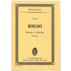 Berlioz Beatrice et Benedict. Obertura (Partitura de Bolsillo)