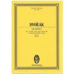 Dvorak. Cuarteto Op.51 Mib...