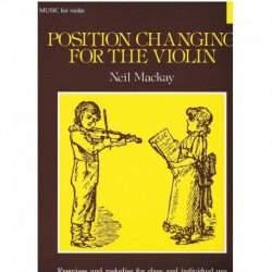 Mackay, Neil Position Changing for the Violin