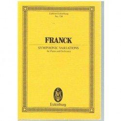 Franck, César. Variaciones...