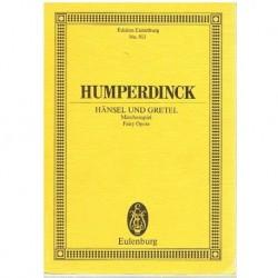 Humperdinck Hansel y Gretel (Partitura de Bolsillo)
