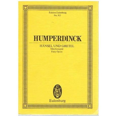 Humperdinck. Hansel y Gretel (Full Score Bolsillo). Eulenburg