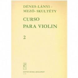 Denes/Lanyi/ Curso para Violín Vol.2