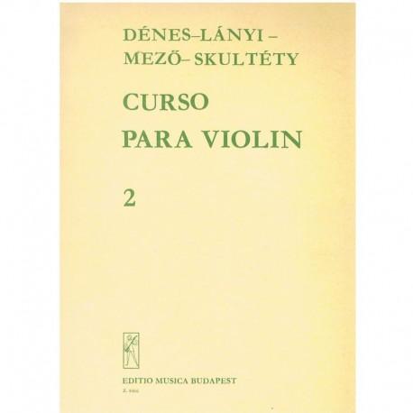 Denes/Lanyi. Curso para Violín Vol.2. Editio Musica Budapest