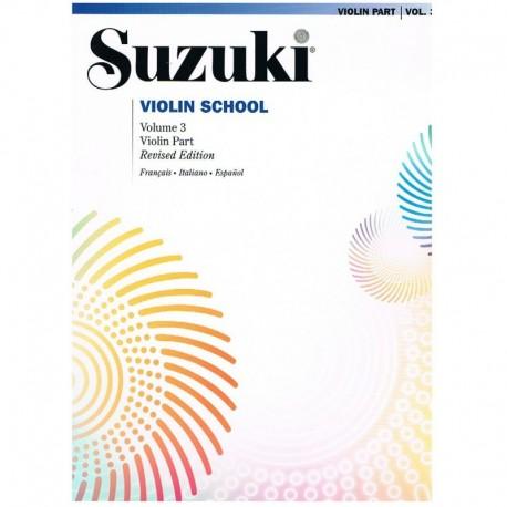 Suzuki Violin School Vol.3 (Violin Part) Revised Edition. Volonté & Co