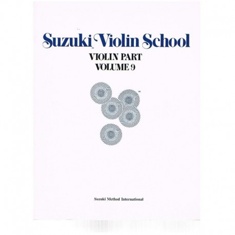 Suzuki Violin School Vol.9