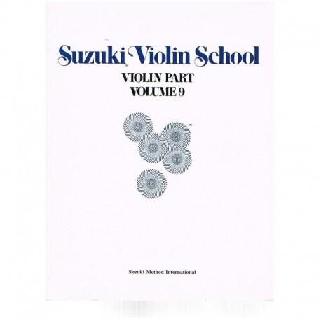 Suzuki Violin School Vol.9 (Violin Part). Summy Birchard
