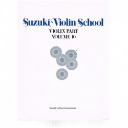 Suzuki Violin School Vol.10