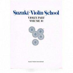 Suzuki Violin School Vol.10...