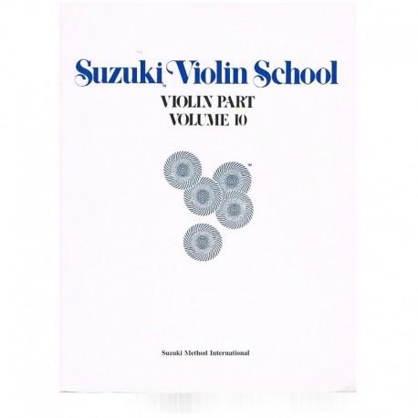 Suzuki Violin School Vol.10 (Violin Part). Summy Birchard
