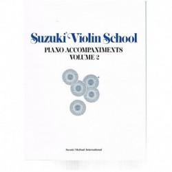 Suzuki Violin School Vol.2 (Acompañamiento Piano)