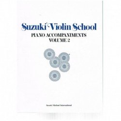 Suzuki Violin School Vol.2...