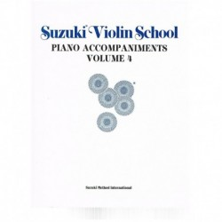 Suzuki Violin School Vol.4...