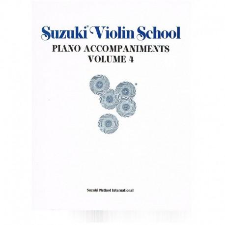 Suzuki Violin School Vol.4 (Acompañamiento Piano)