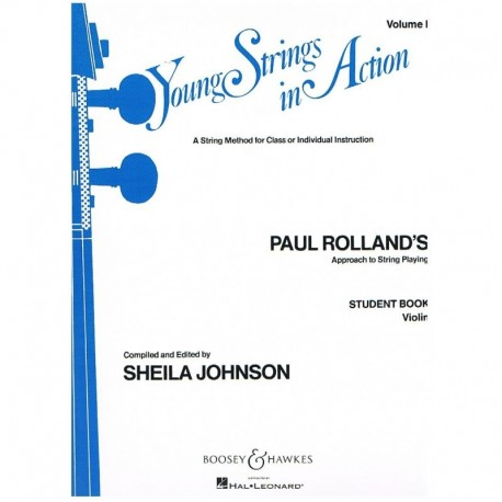 Rolland, Paul. Young Strings In Action Vol.1 (Violin)