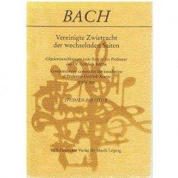 Bach, J.S. Cantata BWV 207 (Partitura de Bolsillo)
