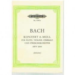 Bach, J.S. Concierto La menor BWV 1044 (Full Score Bolsillo)