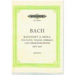Bach, J.S. Concierto La menor BWV 1044 (Partitura de Bolsillo)