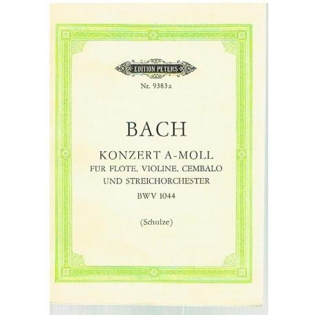Bach, J.S. Concierto La menor BWV 1044 (Full Score Bolsillo). Peters