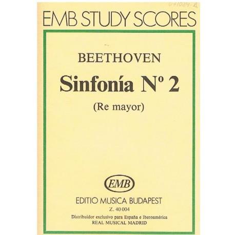 Beethoven. Sinfonía Nº2 Re Mayor (Full Score Bolsillo)
