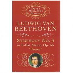 "Beethoven Sinfonía Nº3 MIb Mayor Op.55 Heroica (Partitura de Bolsillo)"""""