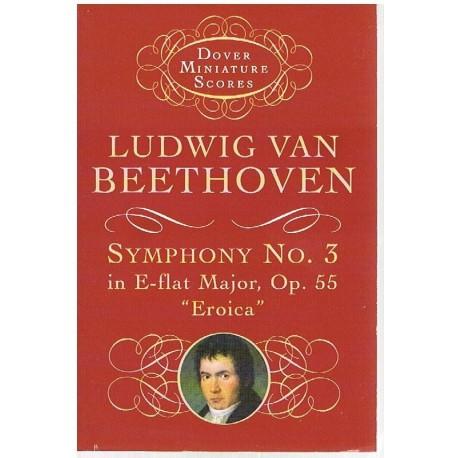 Beethoven. Sinfonía Nº3 MIb Mayor Op.55 Heroica (Partitura de Bolsillo)