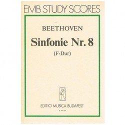 Beethoven. Sinfonía Nº8 Fa Mayor (Partitura de Bolsillo)