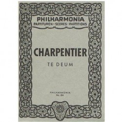 Charpentier. Te Deum (Full Score Bolsillo)
