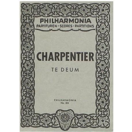Charpentier. Te Deum (Full Score Bolsillo). Philarmonia