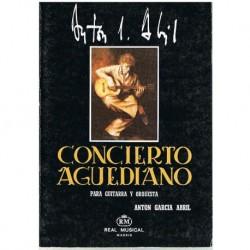 García Abril. Concierto Aguediano. Guitarra y Orquesta (Full Score Bolsillo)