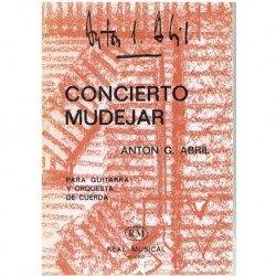 García Abril. Concierto Mudéjar. Guitarra y Orquesta de Cuerda (Full Score Bolsillo)
