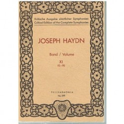 Haydn, Josep Sinfonías Vol.11 (93-98) (Partitura de Bolsillo)