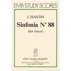Haydn, Joseph. Sinfonía Nº88 Sol Mayor (Partitura de Bolsillo)